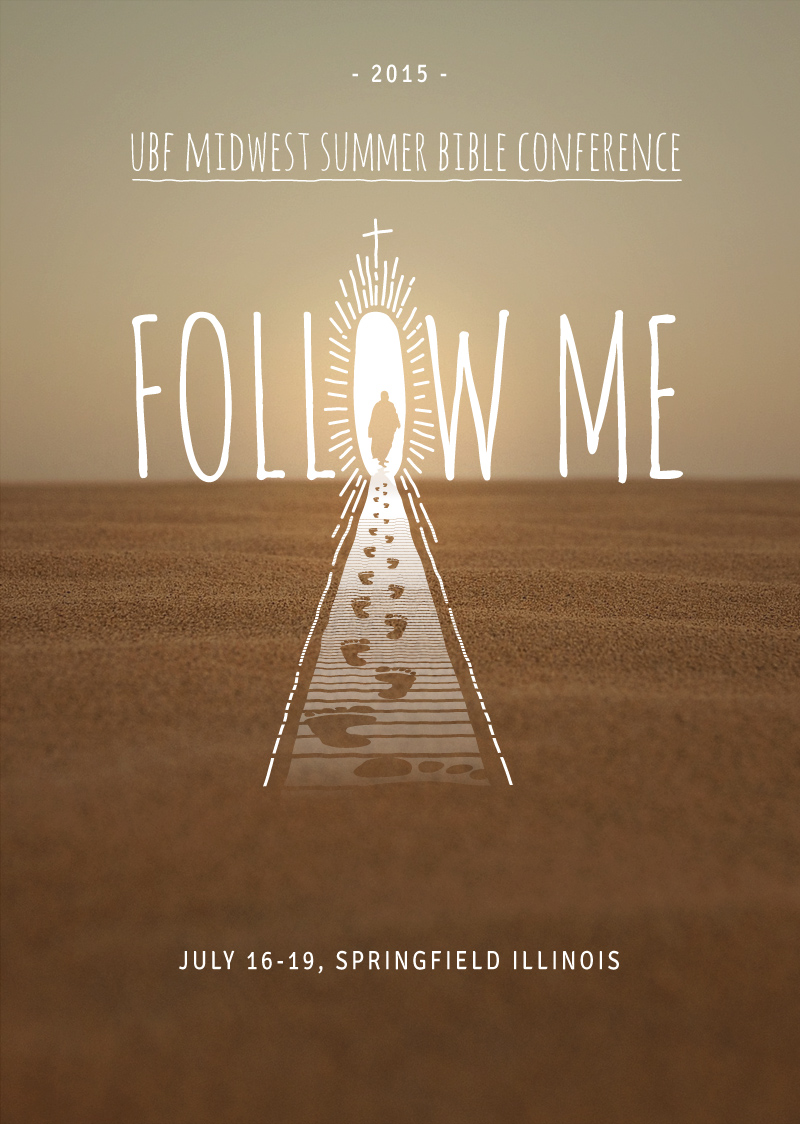 Footsteps Follow Me Poster